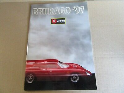 12849.3oz Burago Catalogue 72 Pages 1997 Bburago