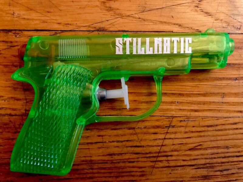 Nas - Stillmatic - Water Pistol (Neon Green) Rare Promotional Item Gun illmatic