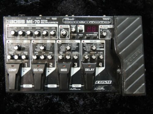 Boss ME-70 Guitar Multi Effects Pedal Processor Free USA Shipping