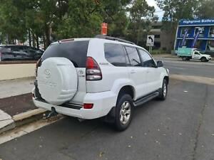 2006 Toyota landcruiser prado 4x4 auto petrol many extras wont last Haberfield Ashfield Area Preview