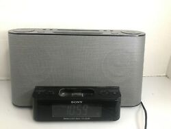 Sony ICF-CS10iP Dream Machine 2 Alarm Clock / AM,FM Radio iPod-in Auto Time Set