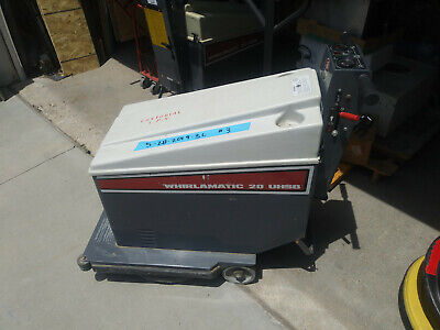 Advance Whirlamatic 20 Uhsb Floor Buffer W Batteries Charger Works