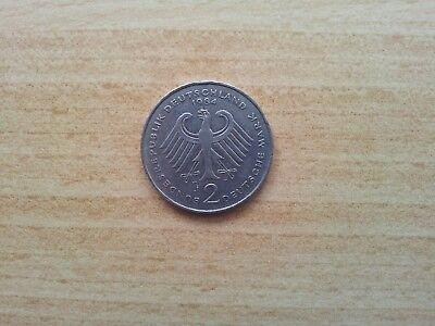 Deutschland 2 DM Deutsche Mark 1984 J Kurt Schumacher