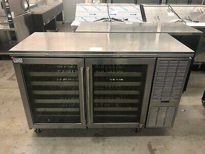 Perlick Bsdz60 - 2 Section Dual Zone Back Bar Cooler Refurbished