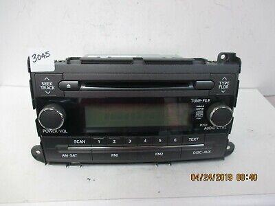 2010-12 Toyota Sienna CD Sat Radio OEM 86120-08230  P1841 Toyota Sat-radio