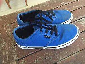 VANS blue shoes, size 2.5 youth. Bargain ! Roseville Ku-ring-gai Area Preview