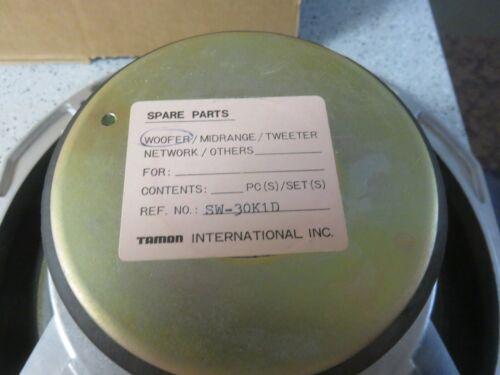 "TAMON INTERNATIONAL SPEAKER 12"" WOOFER SW-30K1D"