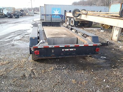 Trailer for Multiquip DCA 400 generator with fuel tank