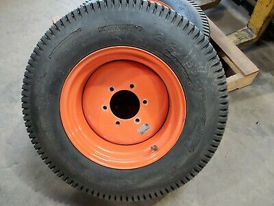 Kubota Tractor Turf Tires And Wheels 15x7ja 087 Rims Bridgestone 21280d15 Turf