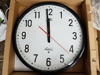 Lathem Airtime At12rp 12 Wall Clock