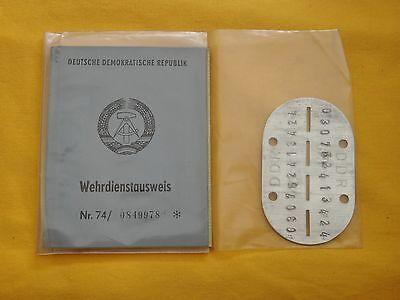 DDR Wehrdienstausweis (3)  !!!!!