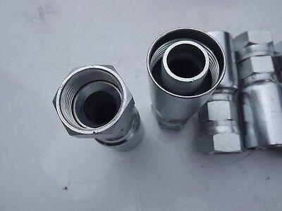 Weatherhead Eaton Hydraulic Fitting 16u-616 Lot Of 5