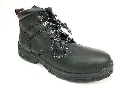 Iron Age IA0101 Men's 14 M Steel Toe EH Boots Black Genuine Leather
