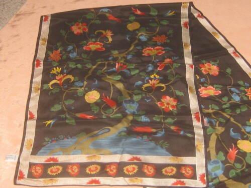 Metropolitan Museum of Art NEW Silk Scarf ORIENTAL Floral