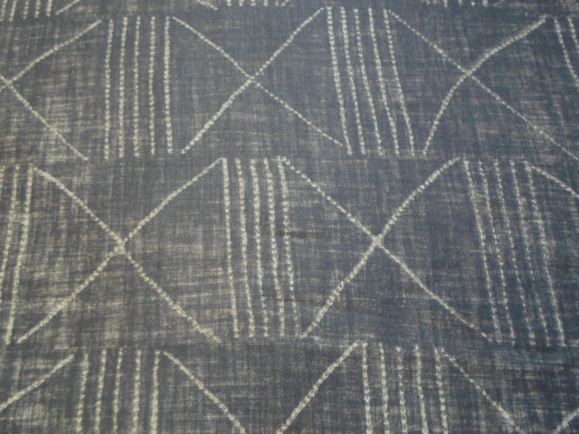 Ralph Lauren Curtain/Upholstery Fabric 'Lagos' Ebony 4.1 METRES 100% Linen