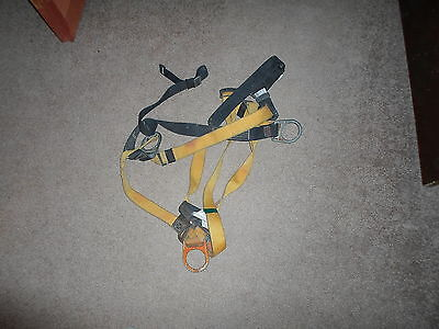 Used Miller Safety Harness Fall Protection Full Body