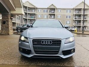 Audi A4 2.0T S Line AWD  *NO ACCIDENT**FULLY LOADED*