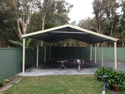 Carport kits prices gumtree australia free local classifieds for Gable carport prices