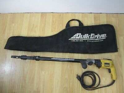 Quikdrive Qdpro300sg2 Decking Attachment W Dewalt Dw257 Gun Case - Read