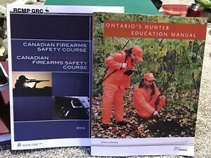 Ontario hunting course manual and firearms license course manual
