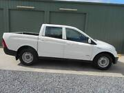 2009 Ssangyong Actyon Sports Ute Hampstead Gardens Port Adelaide Area Preview