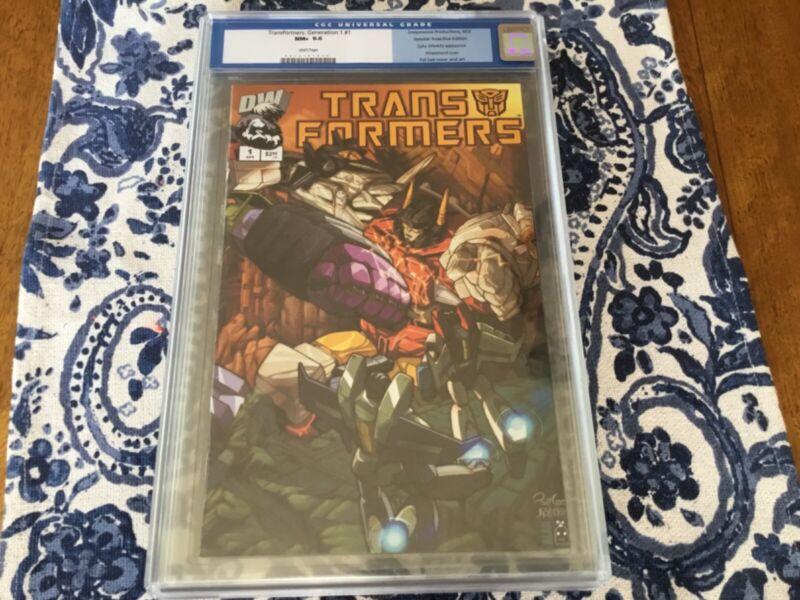 Transformers gen 1 #1 cgc retailer incentive RI generation DW