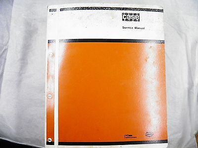 Case 310g 350 Crawler Loader Service Manual W Oem Binder