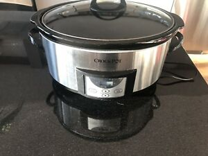 Grand Crock pot - cuisson lente