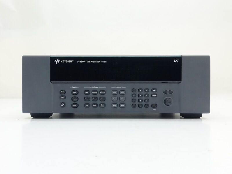 Keysight Used 34980A Multifunction Switch/Measure Unit incl. DMM
