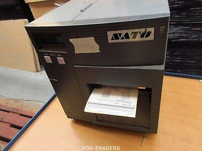 """SATO CL408E Parallel Thermo Label Drucker REWINDER 203dpi 4.1"""" 104mm - 289.9 M"""