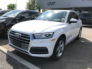 2019 Audi Q5 2.0T | Premium | Sunroof | Leather | HTD Seats