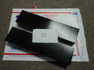 Black Delrin Acetal Sheet Block Cnc Mill 2 Pieces 31