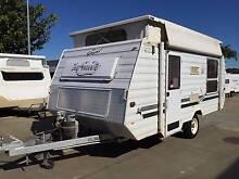 1998 Gazal Infinity Pop top single axle Caravan Clontarf Redcliffe Area Preview