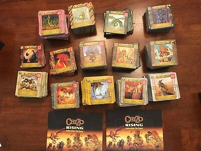 CHIZO RISING Collectible Tile Game LOT - at least 3 starter sets