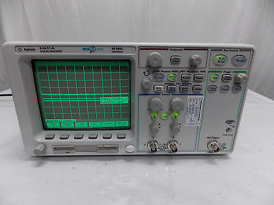 Agilent 54621a Oscilloscope Megazoom W N25757a Interface Calibrated Sticker