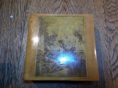 ANTIQUE MAUCHLINE BOX CALLANDER LOCH LOMOND BOATHOUSE LOCH KATRINE