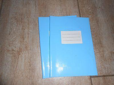 Heftumschläge, blau, DIN A5