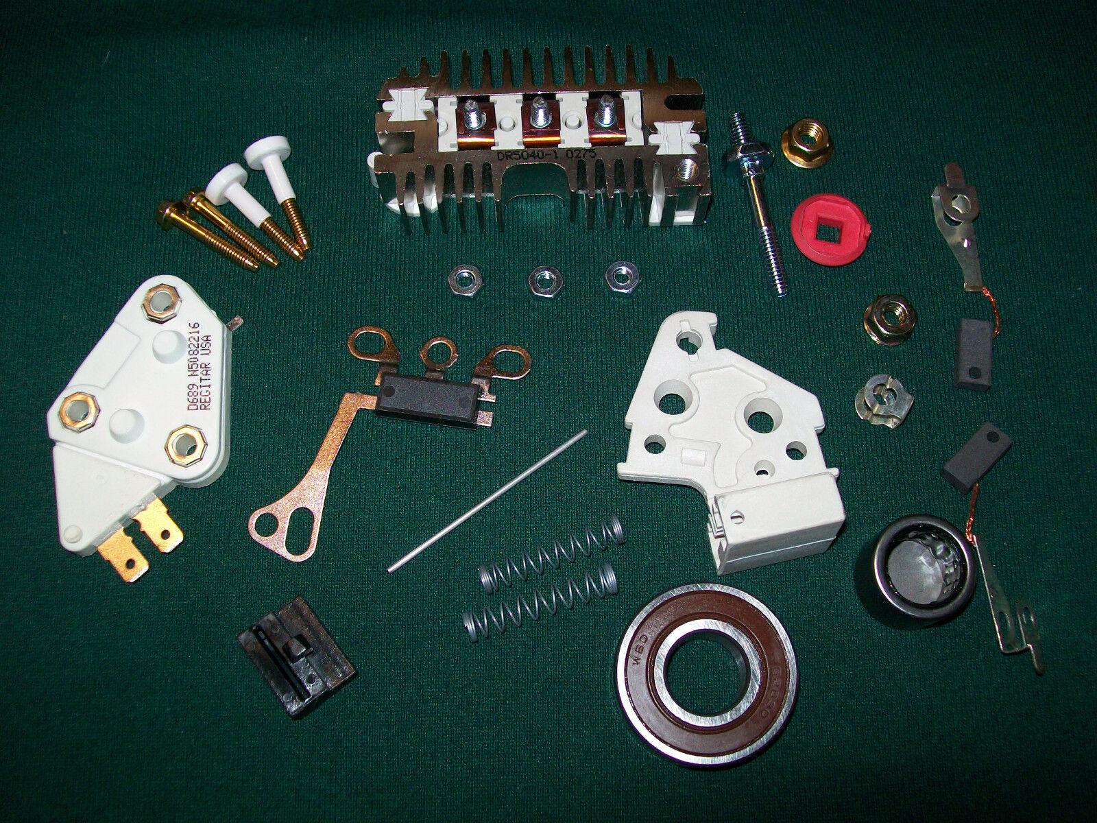 Gm Alternator Conversion Kits : Si delco alternator wire self excited regulator