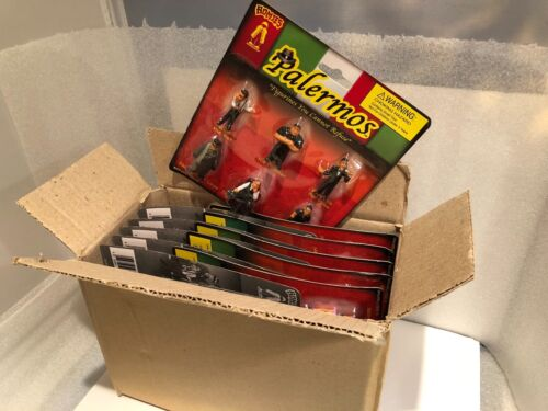 Italian Homies the PALERMOS 1 case 12 blister cards 6 figures per card, 1 3/4""