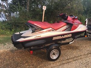 4 stroke Seadoo gtx 155 3 seater for rent!
