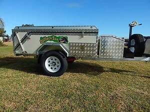 CAMPER  TRAILER   HARD FLOOR NEW 4X4 OUTBACK SAM Andrews Farm Playford Area Preview