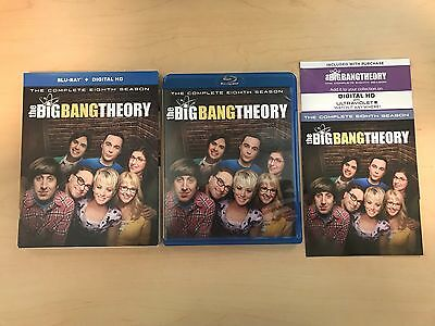 The Big Bang Theory  Complete Eighth 8 Season  Blu Ray    Digital Copy Included