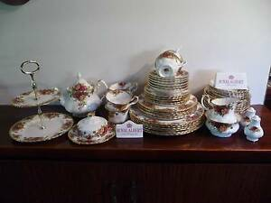 Royal Albert 6 piece Dinner Set - 52 Pieces Excellent condition Balga Stirling Area Preview