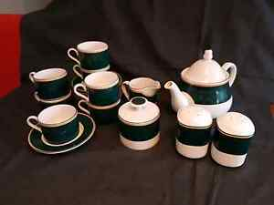 Tea Set plus salt and pepper set Mount Colah Hornsby Area Preview