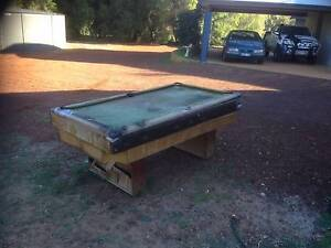 Pool Table with Slate Top Yallingup Busselton Area Preview