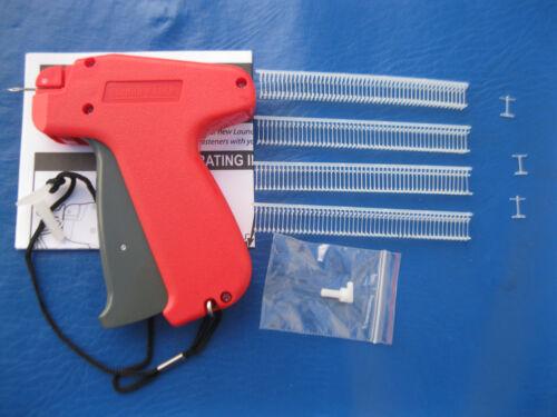 """10000  1/4"""" INCH  Fine T  LOOP PRICE TAG  BARBS Pluse  Fine Gun"""