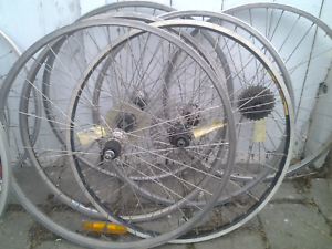 "Refurbished bike bicycle wheels, 26"" rear, 8/9/10 speed Maribyrnong Maribyrnong Area Preview"