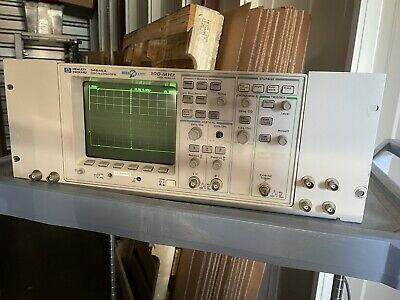 Agilent 54645a Oscilloscope Mega Zoom 100 Mhz 200 Msas In Rack Mount