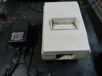 B Epson Model Tm-u200pd Pos Receipt Printer M119d Serial With Power Supply