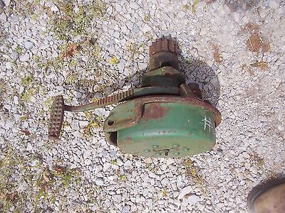 Unstyled John Deere B Tractor Jd Left Brake Assembly With Pedal B218r